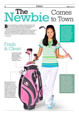 GOLF SG May 2012 Newbie