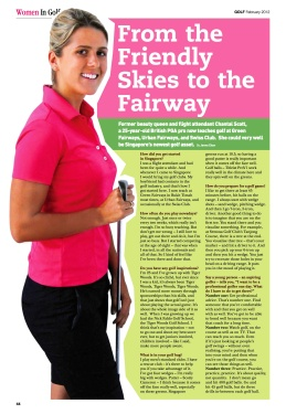 GOLF SG Feb 2012 Women in Golf