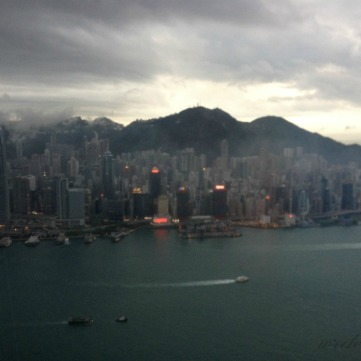 Evening view of HK