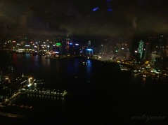Nighttime view of HK