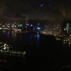 Nighttime view of HK