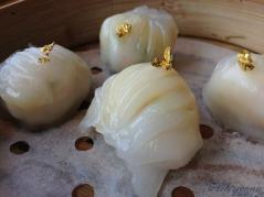 Classy har gow (shrimp dumplings)