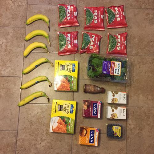 groceries week of July18