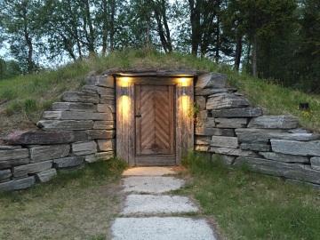 Outside the cellar, Fäviken Magasinet, Sweden