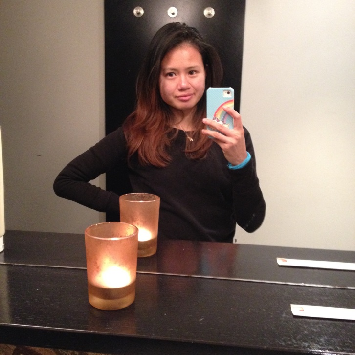 Bathroom selfie, La Degustation Bohême Bourgeoise, Prague