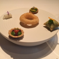 Amuse bouches, Quince, San Francisco